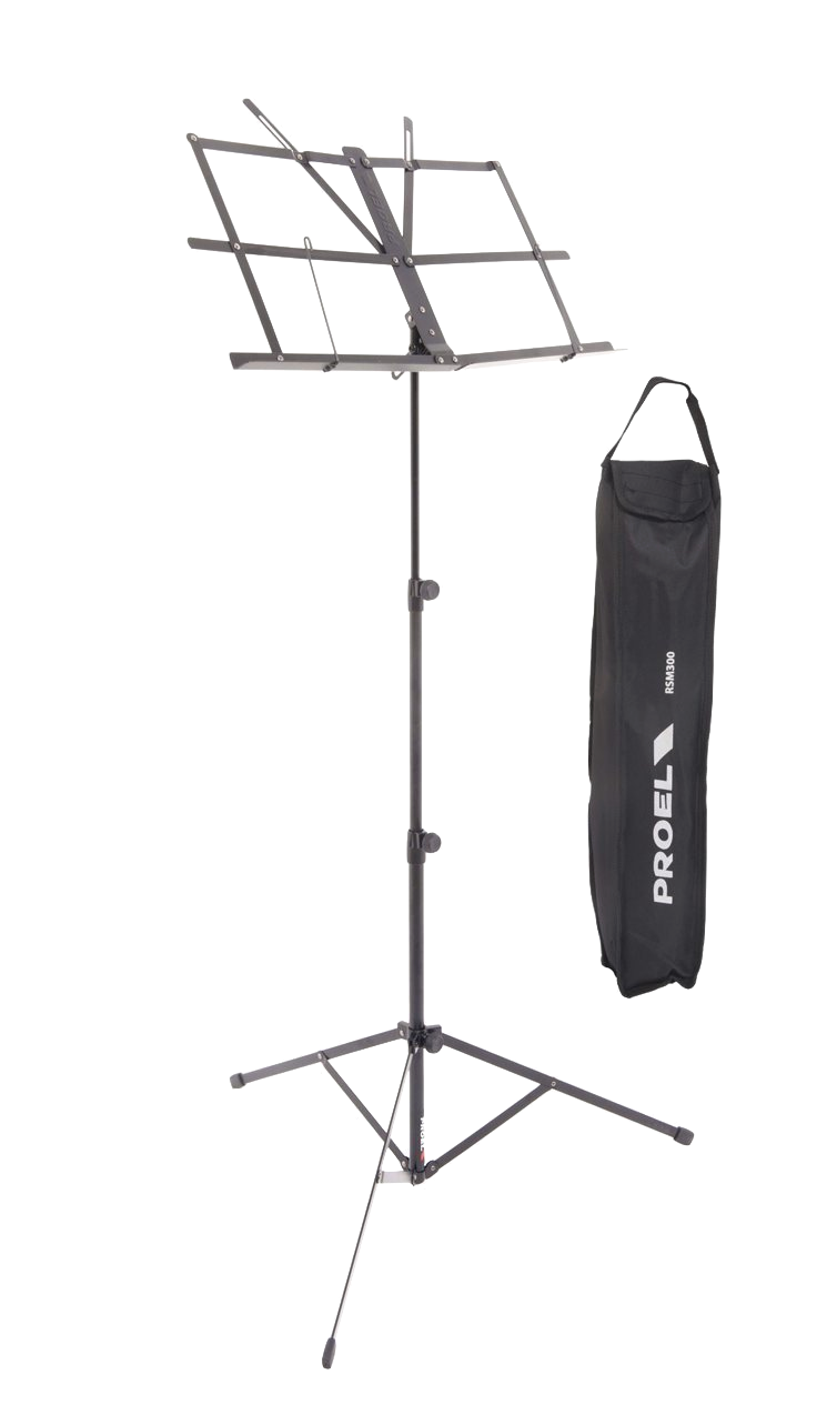 Musical Instruments & Gear Other Dj Equipment Rsm300 Proel Leggio Spartito Regolabile In Tre Altezze Con Borsa Trasp Nylon