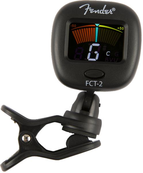 FENDER® FCT-2 COLOR CLIP-ON TUNER