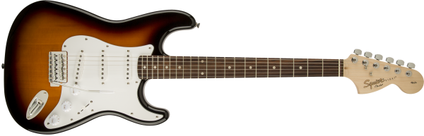 SQUIER AFFINITY SERIES™ STRATOCASTER® LRL BSB