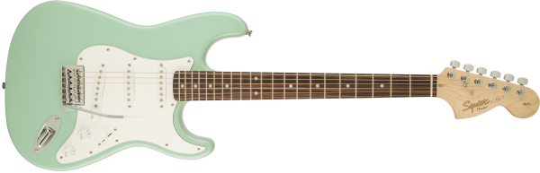 SQUIER AFFINITY SERIES™ STRATOCASTER® LRL SFG