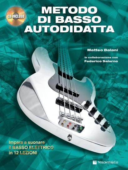 METODO DI BASSO AUTODIDATTA+CD AUT BALANI SALERNO