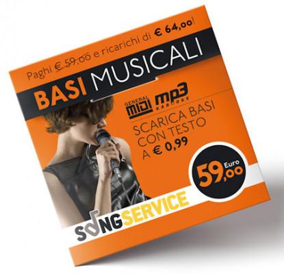 M-LIVE RICARICA SONGNET 59€