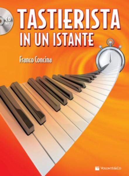 TASTIERISTA IN UN ISTANTE+CD CONCINA FRANCO