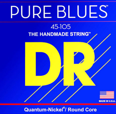 DR STRING PB-45 PURE BLUES BASS 45 105 MEDIUM