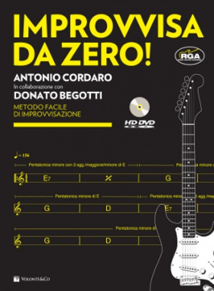 IMPROVVISA DA ZERO! + DVD CORDARO BEGOTTI