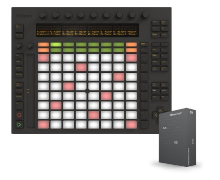 ABLETON  PUSH CON LIVE 9 SUITE INCLUSO