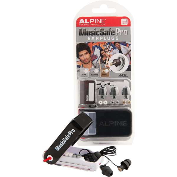 ALPINE MUSICSAFE PRO EARPLUG MKIII BLACK