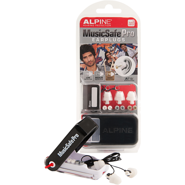ALPINE MUSICSAFE PRO EARPLUG MKII WHITE