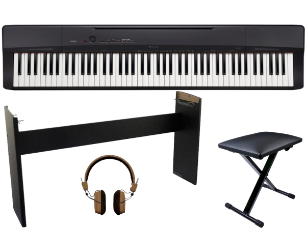 CASIO PRIVIA PX-160 BK FULL BUNDLE