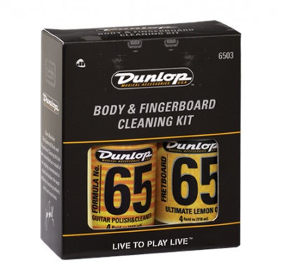 DUNLOP 6503 BODY FINGERBOARD CLEANING KIT