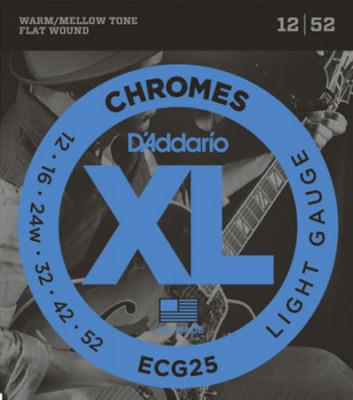 D'ADDARIO ECG25 CHROMES LITE