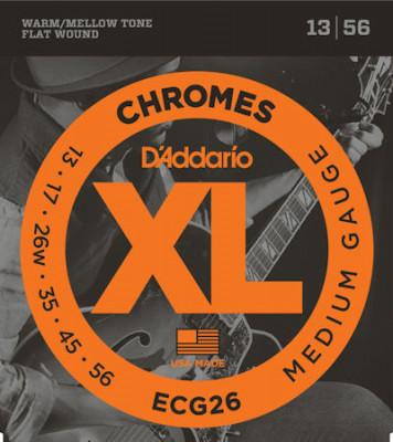 D'ADDARIO ECG26 CHROMES MED