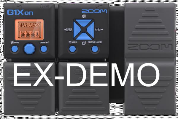 ZOOM G1XON EX-DEMO