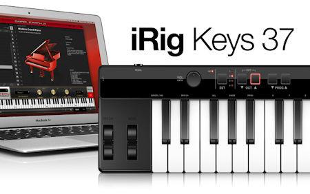 IK IRIG KEYS 37 USB