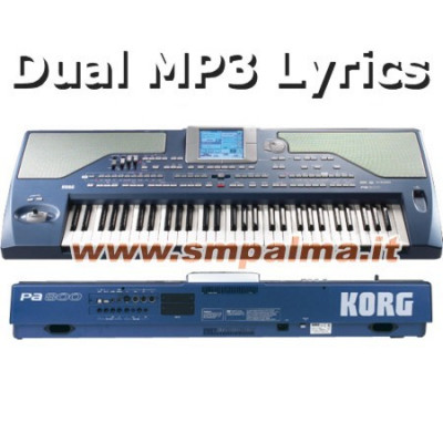 KORG PA800 DUAL MP3
