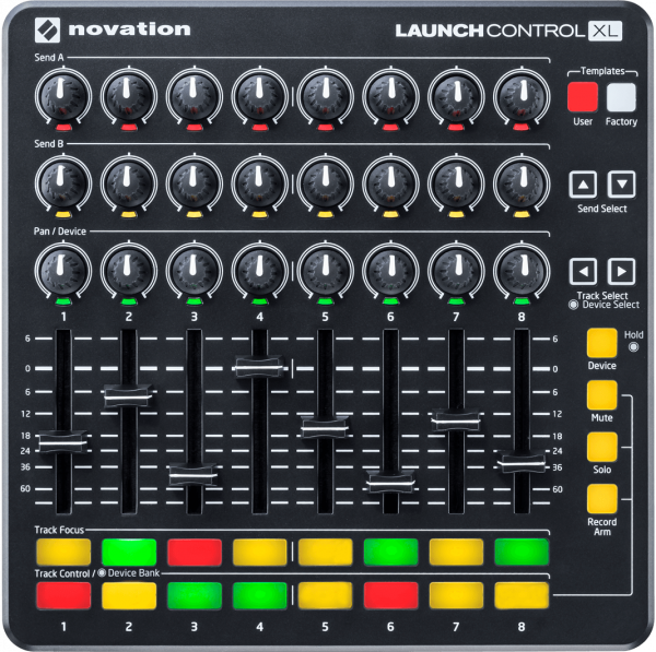 NOVATION LAUNCHCONTROL XL MK2