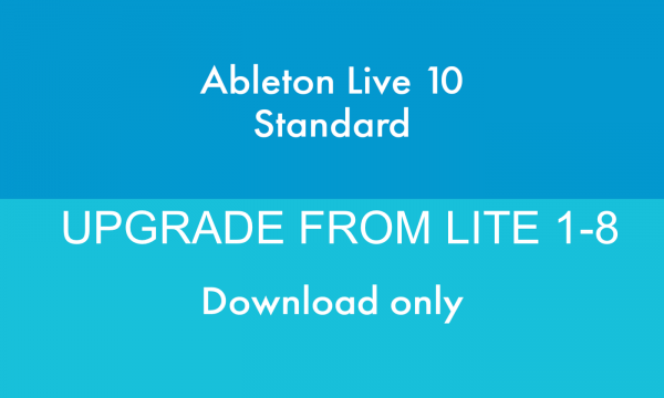 ABLETON LIVE 10 UPGRADE FROM LITE 1-8 DOWNLOAD