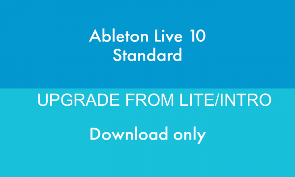 ABLETON LIVE 10 UPGRADE FROM LITE/INTRO DOWNLOAD