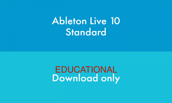 ABLETON LIVE 10 STANDARD EDU DOWNLOAD VERSION