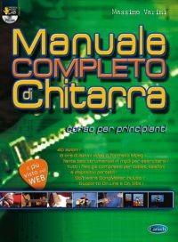 MANUALE COMPLETO DI CHITARRA + DVD VARINI  MASSIMO