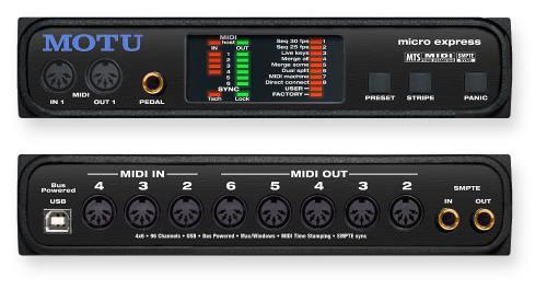 MOTU MIDI MICRO EXPRESS 2