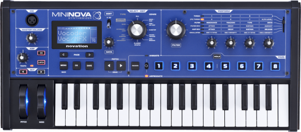 NOVATION SYNTH MININOVA