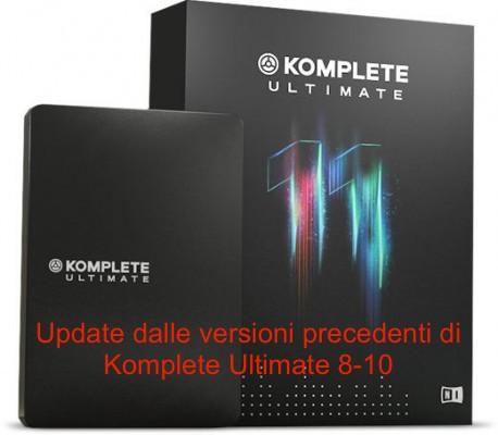 KOMPLETE 11 ULTIMATE UPDATE