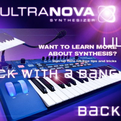 NOVATION SYNTH ULTRANOVA