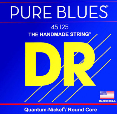 DR STRING PB5-45 PURE BLUES BASS 45 125 MEDIUM 5