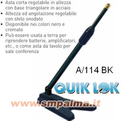 QUIKLOK A-114 BLACK