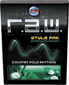 RAW COUNTRY FOLK RHYTMHS