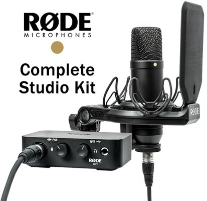 RODE COMPLETE STUDIO KIT NT1 AI1