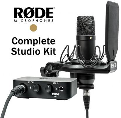 RODE COMPLETE STUDIO KIT NT1 AI1