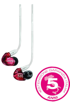 SHURE SE535 EDIZIONE RED LIMITED EDITION