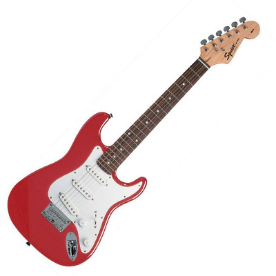 SQUIER MINI STRAT RW V2 TORINO RED