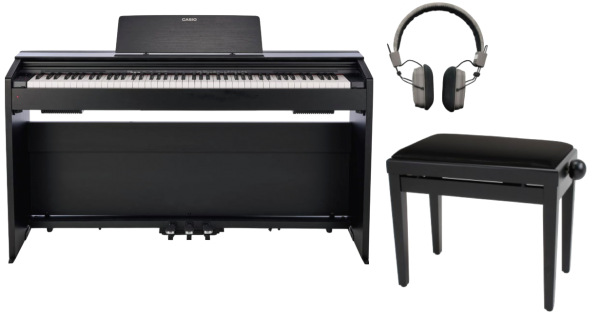 CASIO PRIVIA PX-870BK FULL BUNDLE