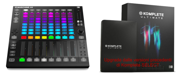 MASCHINE JAM BUNDLE KOMPLETE 11 ULTIMATE