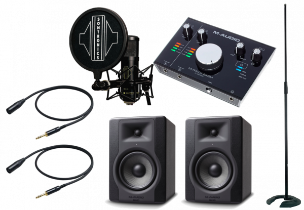 RECORDING PACK M-AUDIO