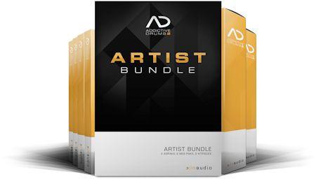 XLN AUDIO AD2 ARTIST BUNDLE