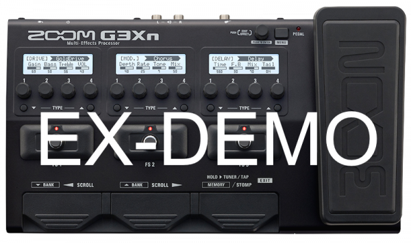 ZOOM G3XN EX-DEMO