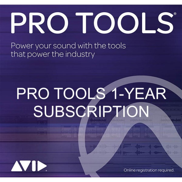 AVID PROTOOLS 1-YEAR SUBSCRIPTION