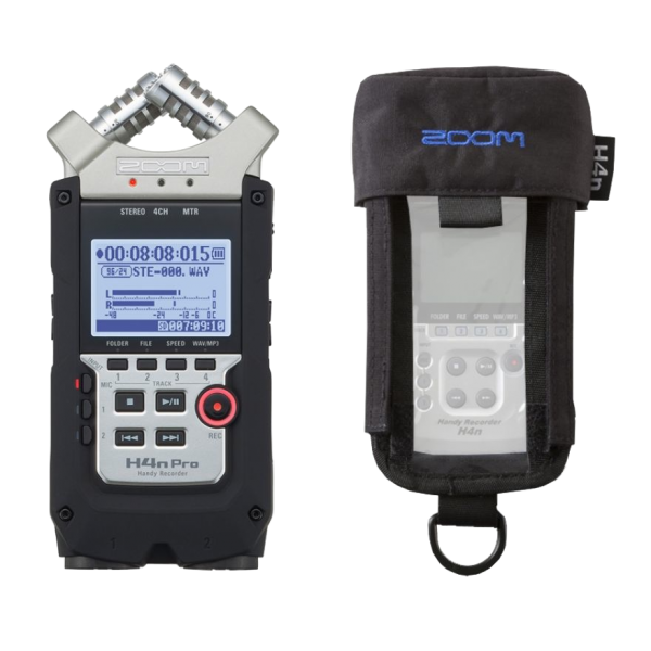 ZOOM H4n PRO BAG BUNDLE