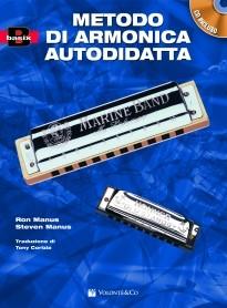 METODO DI ARMONICA AUTODIDATTA+ CD MANUS