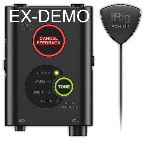 IK IRIG ACOUSTIC STAGE EX-DEMO