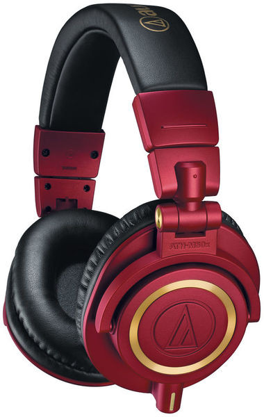 AUDIO-TECHNICA ATH-M50X RD LIMITED EDITION