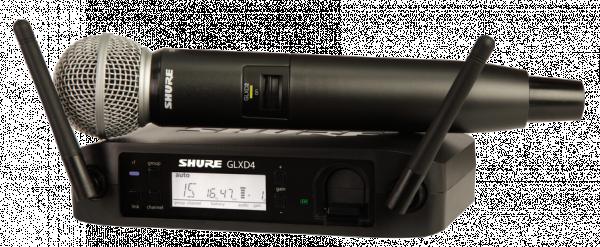 SHURE GLXD24E/SM58