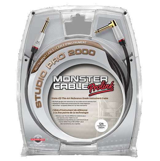 MONSTER CABLE SP2000 12A 3,65M ANGLE