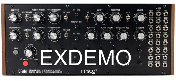 MOOG MUSIC DFAM EX-DEMO