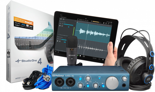PRESONUS STUDIO BUNDLE AUDIOBOX ITWO