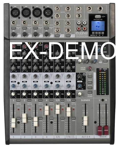 PHONIC AM1204FX USBR EX-DEMO